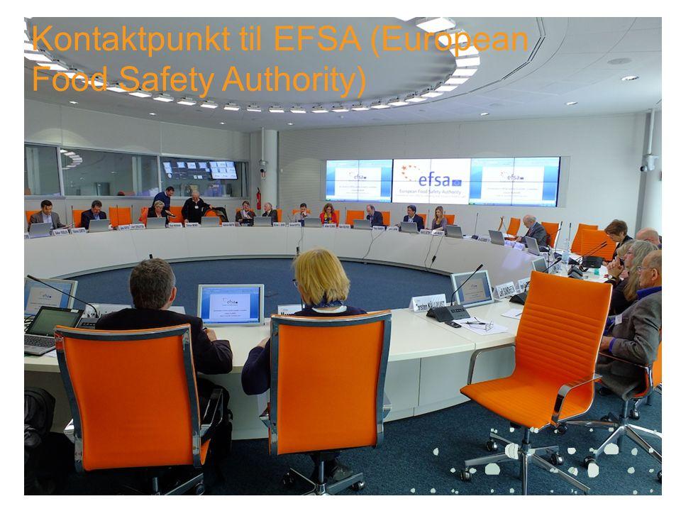 Kontaktpunkt til EFSA (European Food Safety Authority)