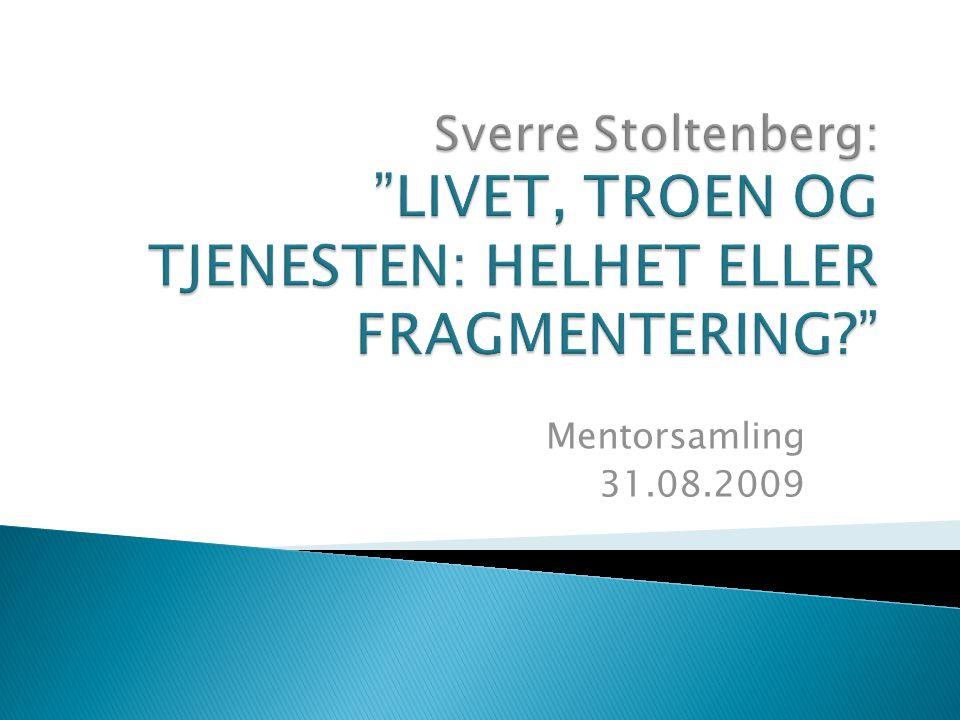 Mentorsamling 31.08.2009