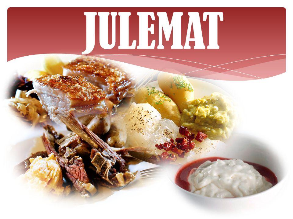 Dessert Alle kjenner til den tradisjonelle riskremen med rød saus og mandel i.