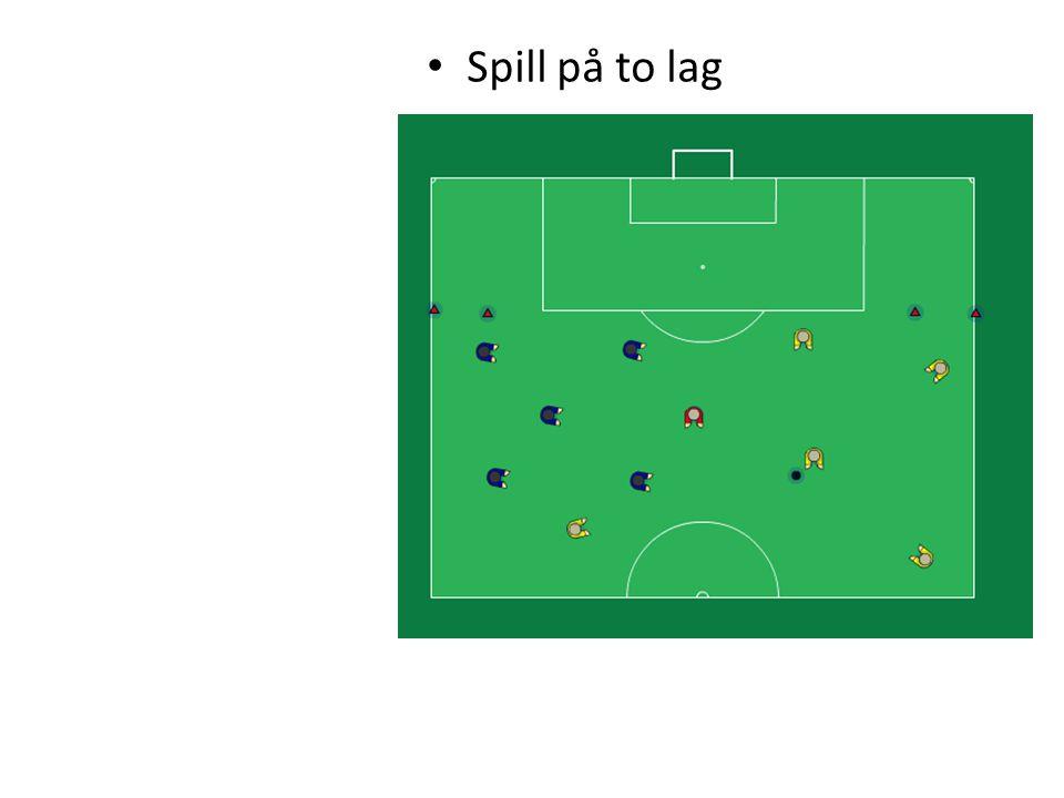 • Spill på to lag