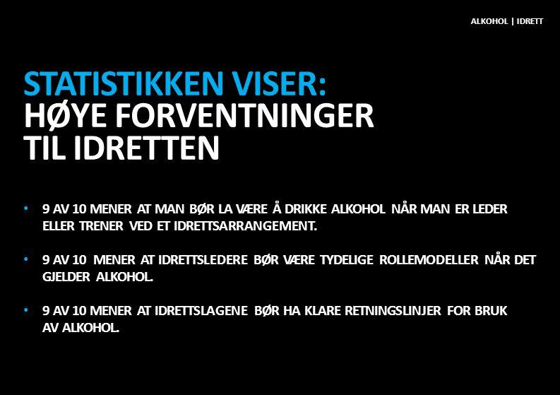 SITUASJON 6 KLUBBEN PÅ TRENINGSLEIR I UTLANDET ALKOHOL | IDRETT