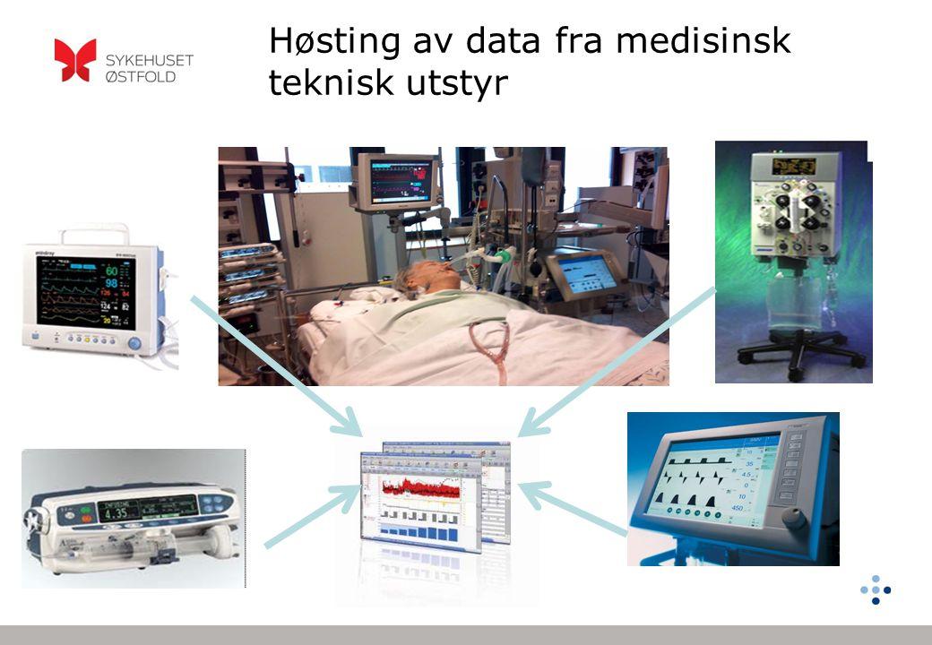 Høsting av data fra medisinsk teknisk utstyr