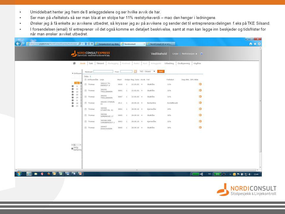 •Får du DSB på besøk, henter du frem f.eks fra 01.01.2011 – til 31.12.2011.