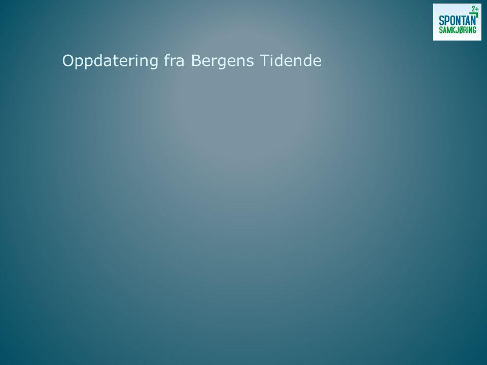 Oppdatering fra Bergens Tidende