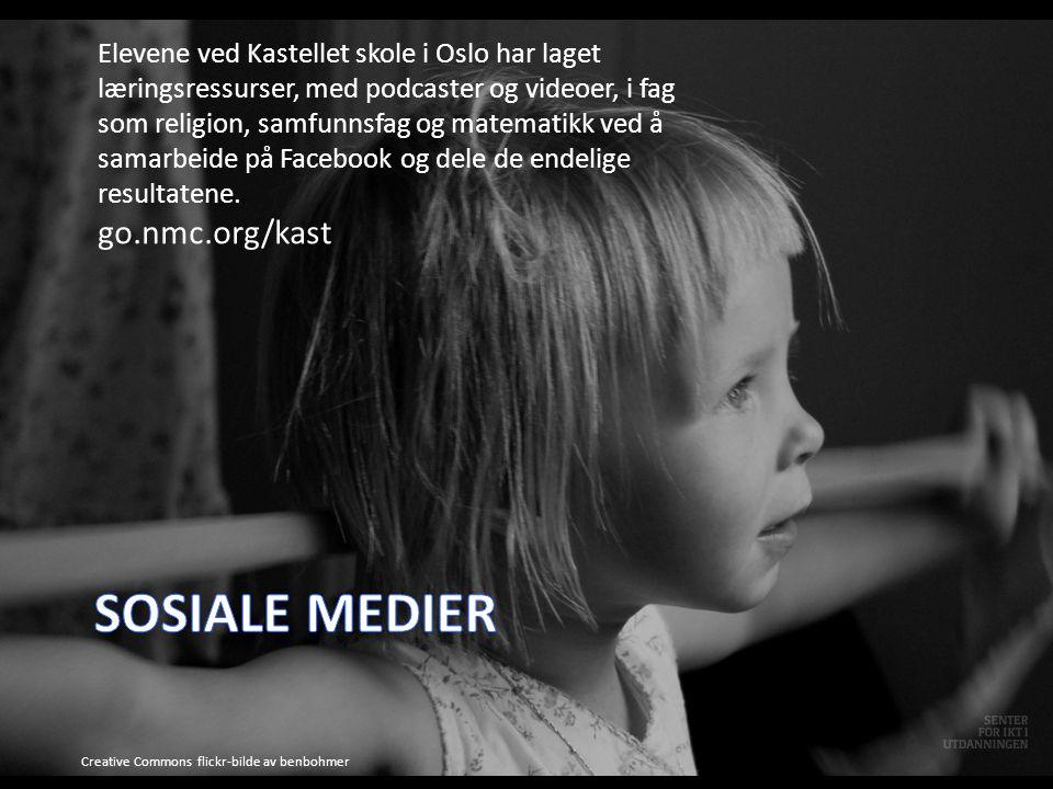 Elevene ved Kastellet skole i Oslo har laget læringsressurser, med podcaster og videoer, i fag som religion, samfunnsfag og matematikk ved å samarbeide på Facebook og dele de endelige resultatene.