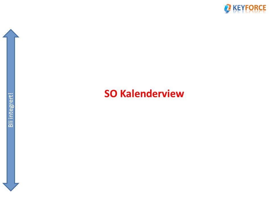 SO Kalenderview Bli integrert!
