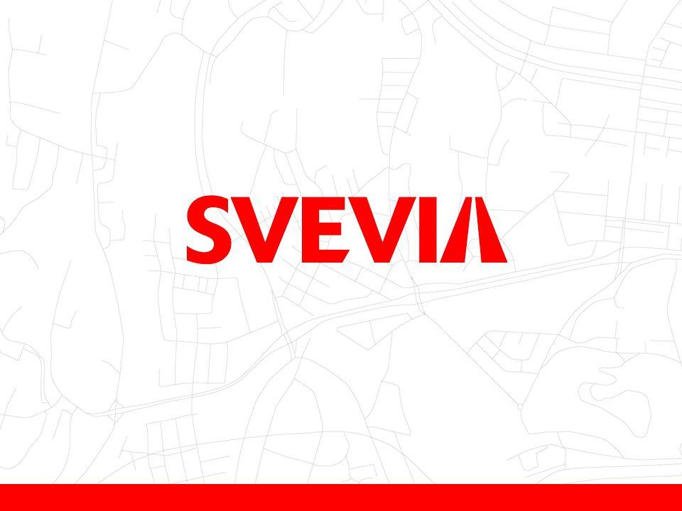 Totalt drifts- og anleggsmarked 87 milliarder kroner Markedsandeler 2012 12 Svevia Peab Skanska Ncc Veidekke Andre entreprenører 8 % 13 % 12 % 11 % 5 % 51 % 13 % 12 % 11 % 8 % 5 % 51 %