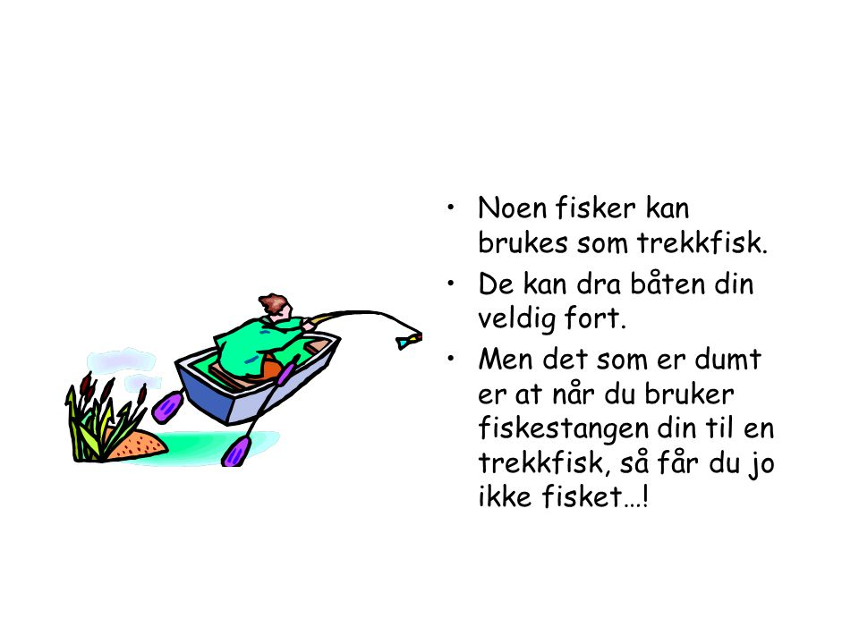 •I Sverige er det forresten også noen elver som renner oppover.