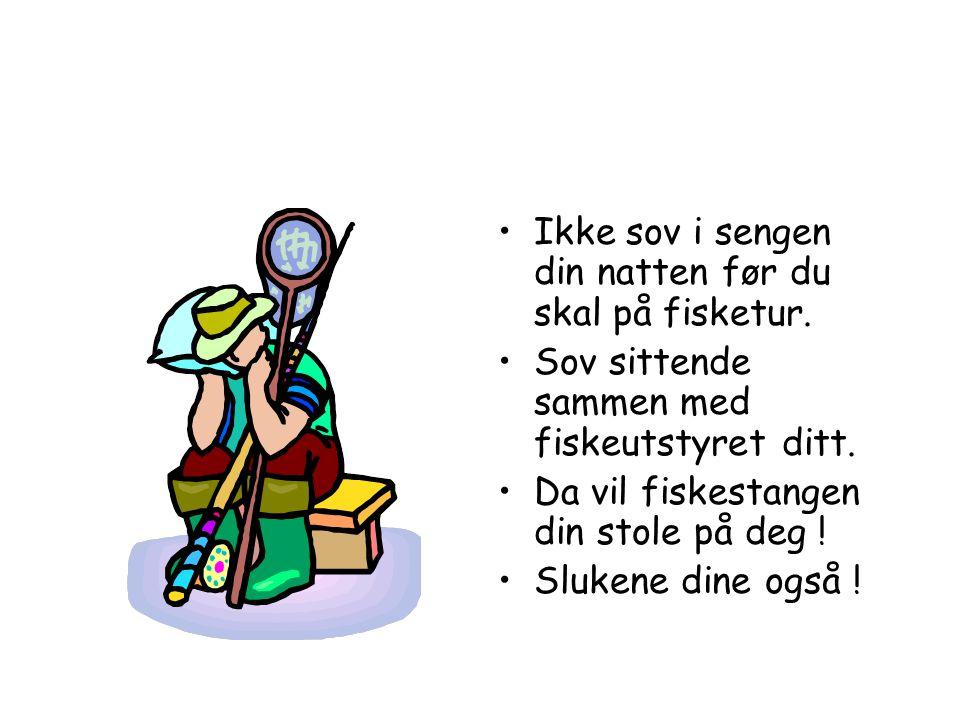 35 gode råd om fisking. Bli en bedre fisker ! Av Ulf SkauliUlf Skauli