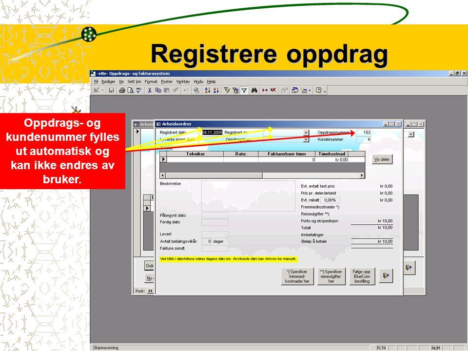 5 Kundeforholdet opprettes på grunnlag av de data som er registrert i kundedataskjemaet.