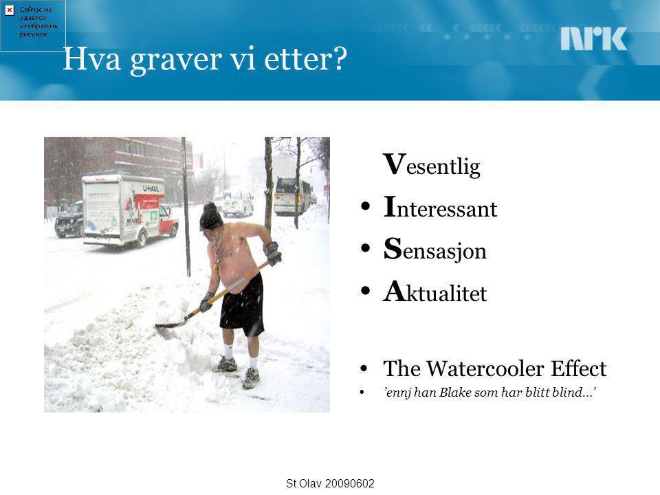 The watercooler effect Ut i Rommet med KnutSverre møter kongen St.Olav 20090602