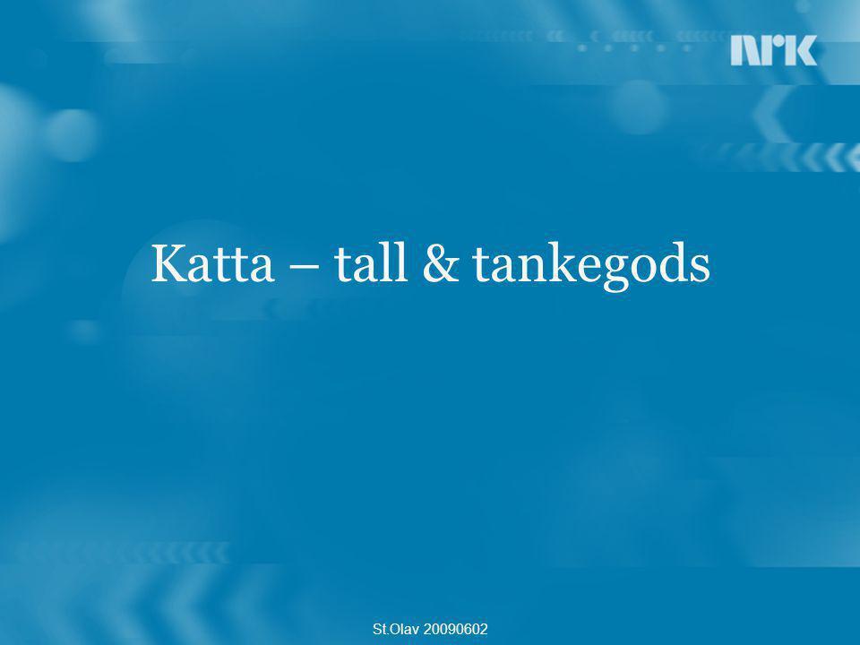 Katta – tall & tankegods St.Olav 20090602