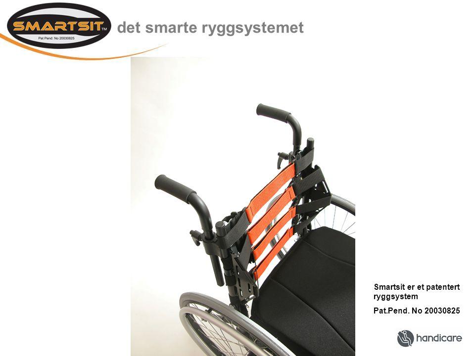 det smarte ryggsystemet Smartsit er et patentert ryggsystem Pat.Pend. No 20030825