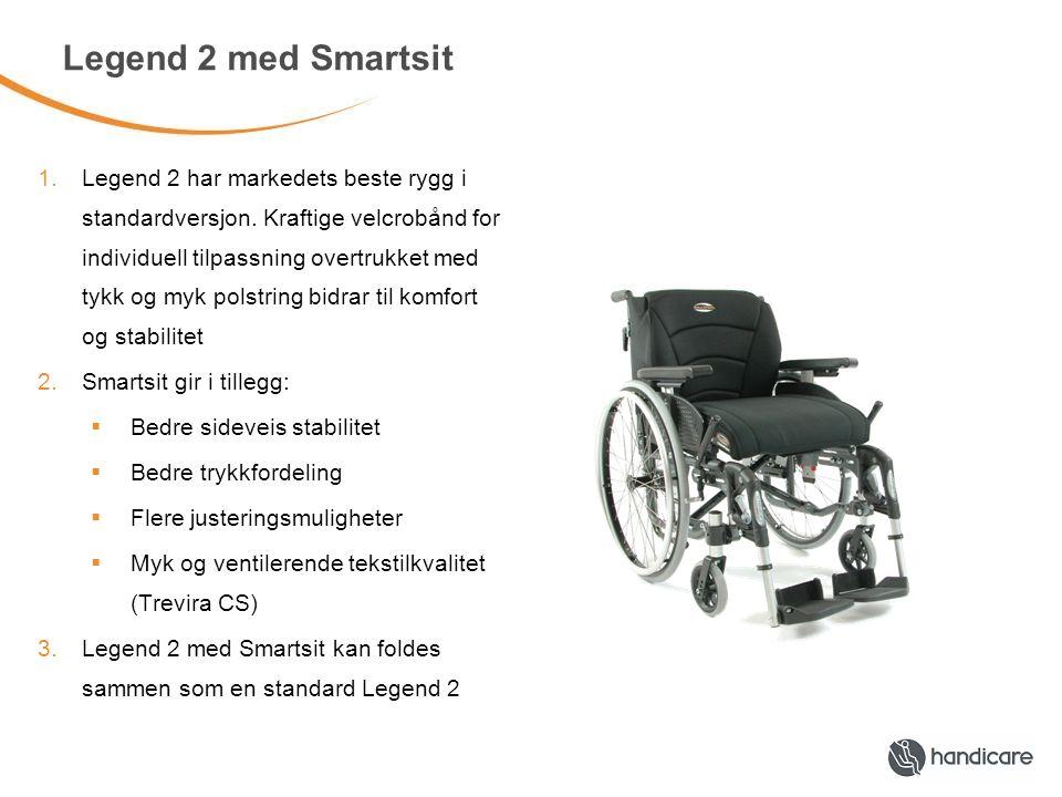 Legend 2 med Smartsit 1.Legend 2 har markedets beste rygg i standardversjon.