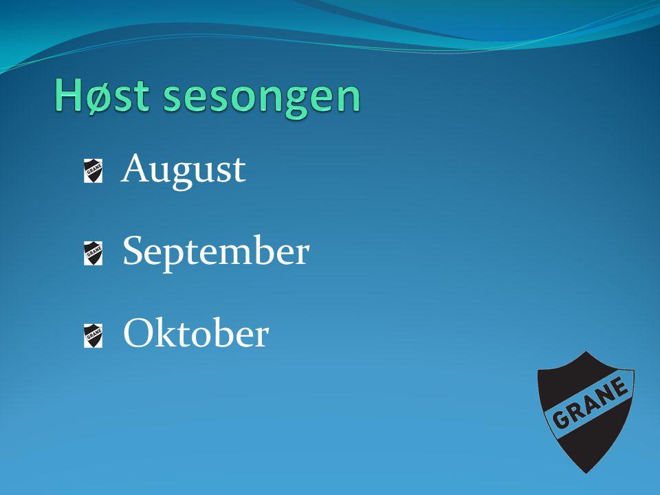 August September Oktober