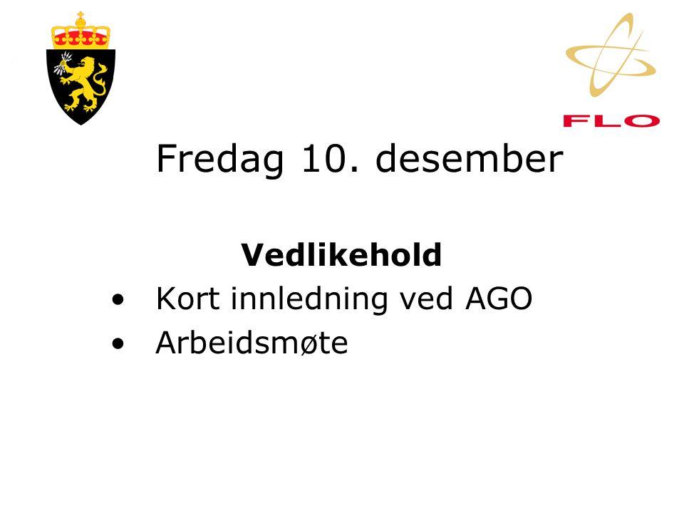 Torsdag 9. desember IKT •Forhandling om org-kart •Drøfting av stillings- beskrivelser og OPL/F
