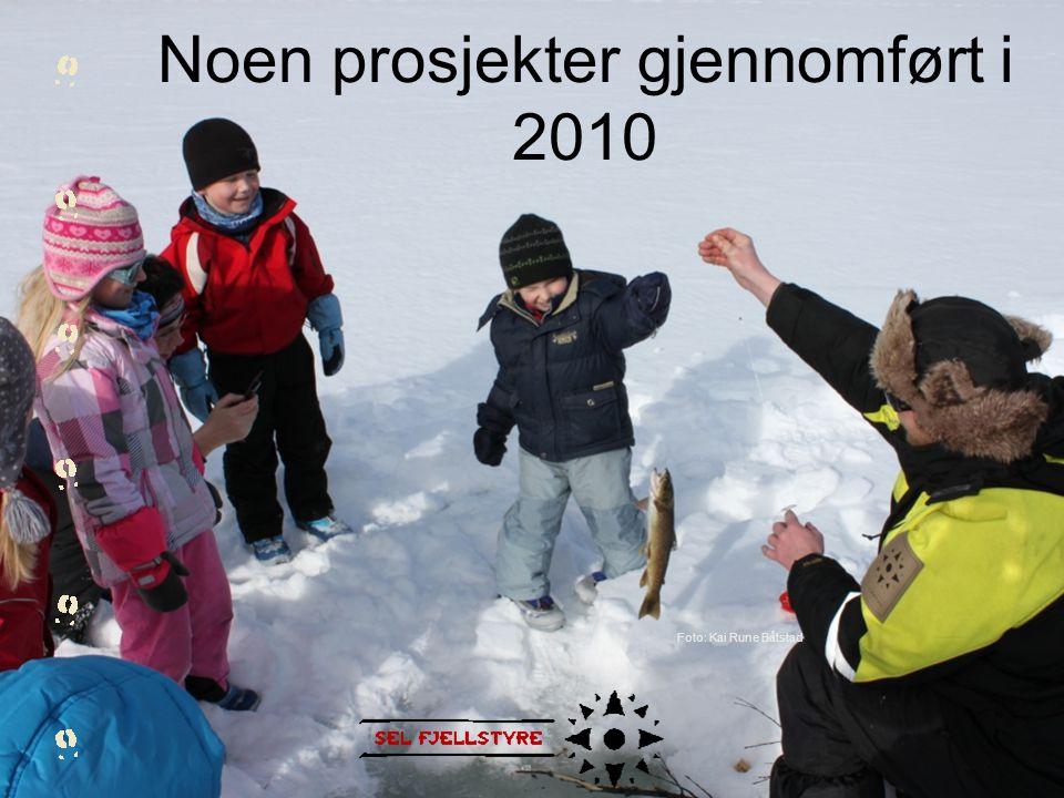 Noen prosjekter gjennomført i 2010 Foto: Kai Rune Båtstad