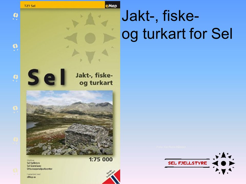 Jakt-, fiske- og turkart for Sel Foto: Kai Rune Båtstad