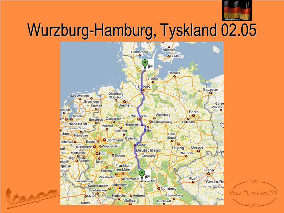 Wurzburg-Hamburg, Tyskland 02.05