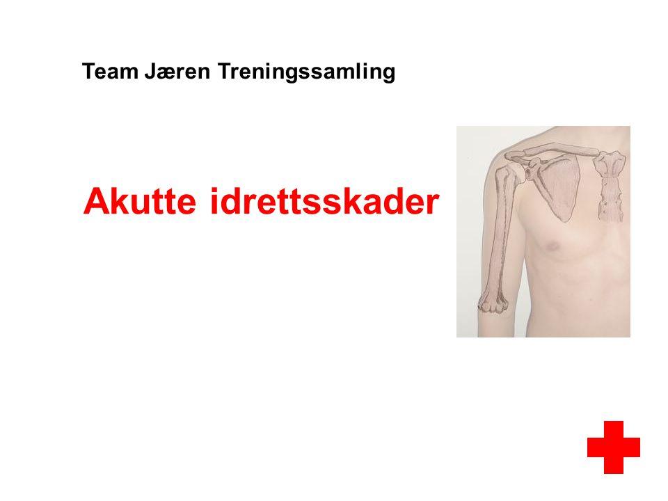 Akutte idrettsskader Team Jæren Treningssamling