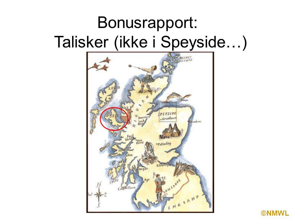 ©NMWL Bonusrapport: Talisker (ikke i Speyside…)