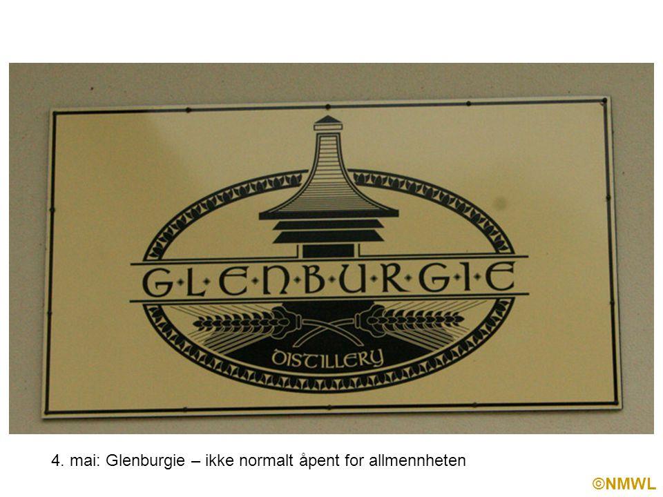 ©NMWL 4. mai: Glenburgie – ikke normalt åpent for allmennheten