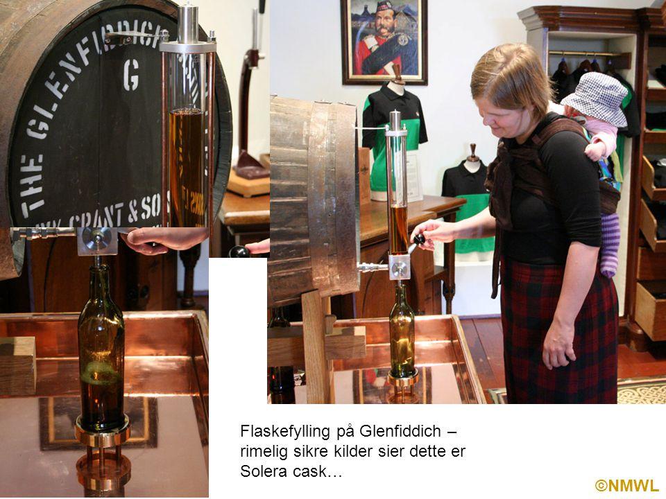 ©NMWL Flaskefylling på Glenfiddich – rimelig sikre kilder sier dette er Solera cask…