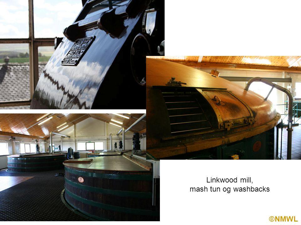 ©NMWL Linkwood mill, mash tun og washbacks