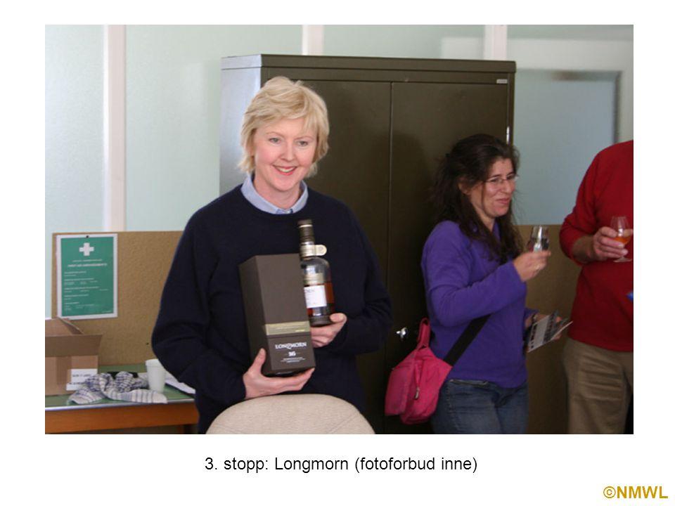 ©NMWL 3. stopp: Longmorn (fotoforbud inne)