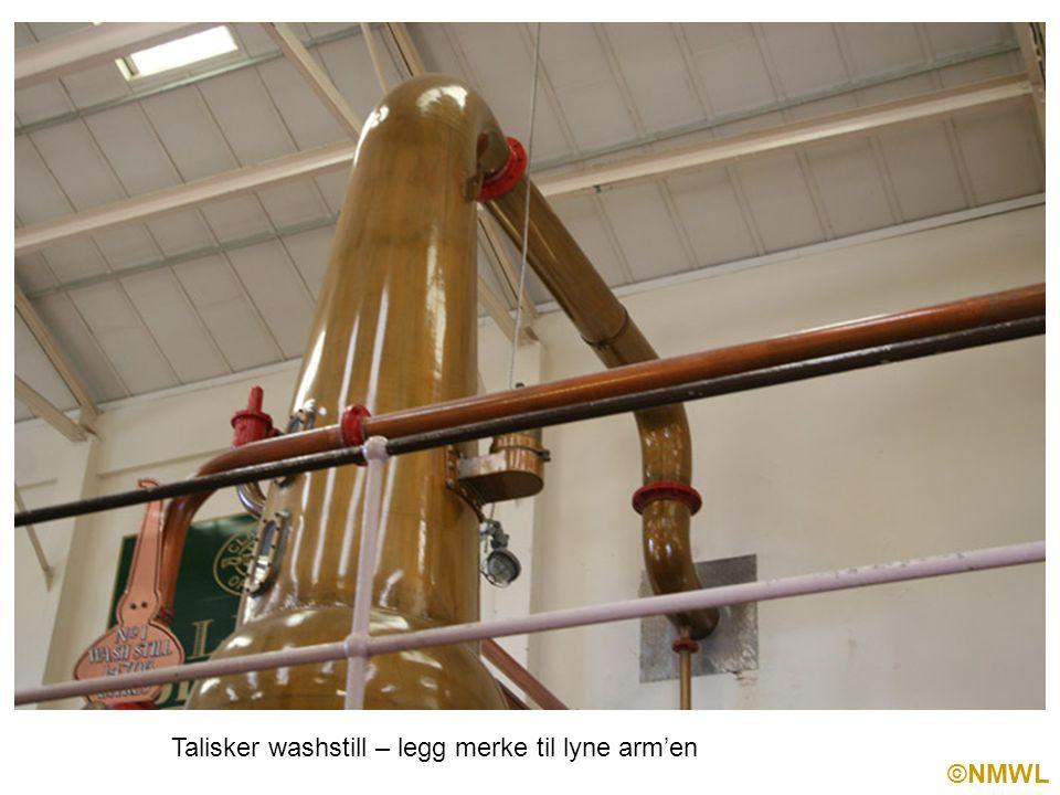 ©NMWL Talisker washstill – legg merke til lyne arm'en