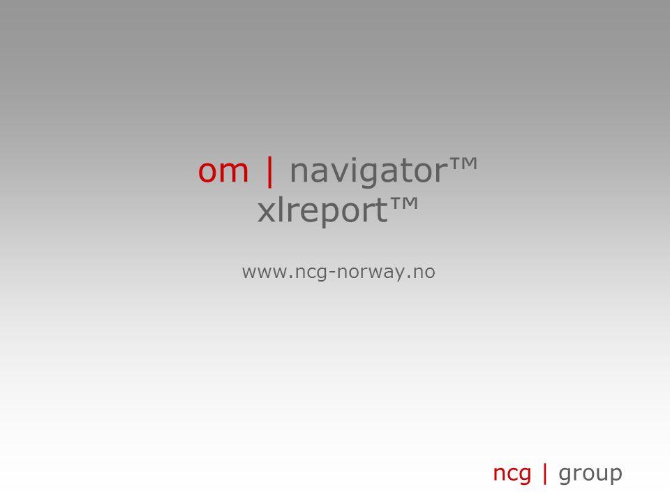 ncg | group om | eksempel på selskap