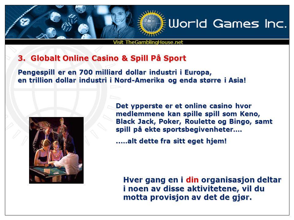 1. Et Globalt Online Lotteri – Sweepstakes-8 Tenk deg størrelsen på et VERDENSOMSPENNENDE lotteri hvor 26 medlemmer vinner hver uke…. Fem gevinstklass