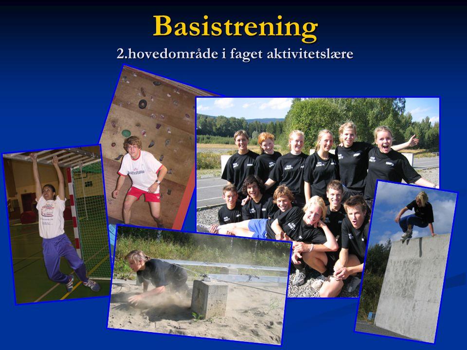 Basistrening 2.hovedområde i faget aktivitetslære