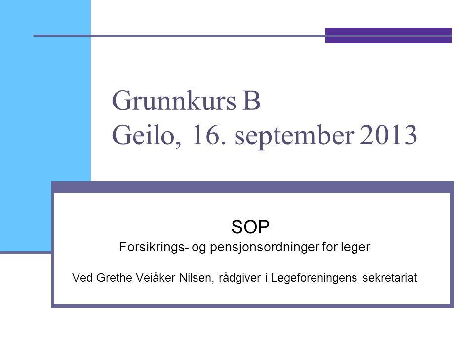 2 Hovedtemaer  Generelt om SOP  Vedtektene fra 2011 (og 2012 og 2013)  Ytelsene  Supplerende forsikringsordninger