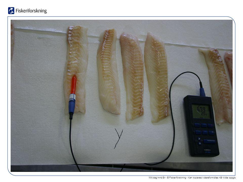 NN/dag/mnd/år - © Fiskeriforskning - Kan kopieres/videreformidles når kilde oppgis