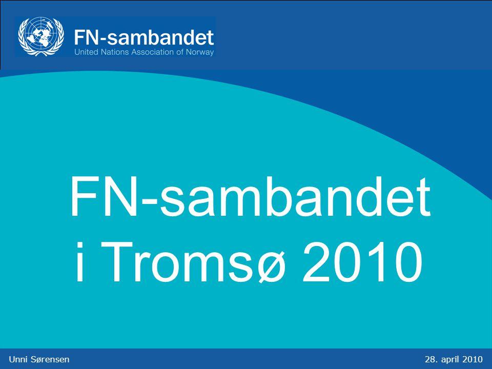 Unni Sørensen28. april 2010 FN-sambandet i Tromsø 2010
