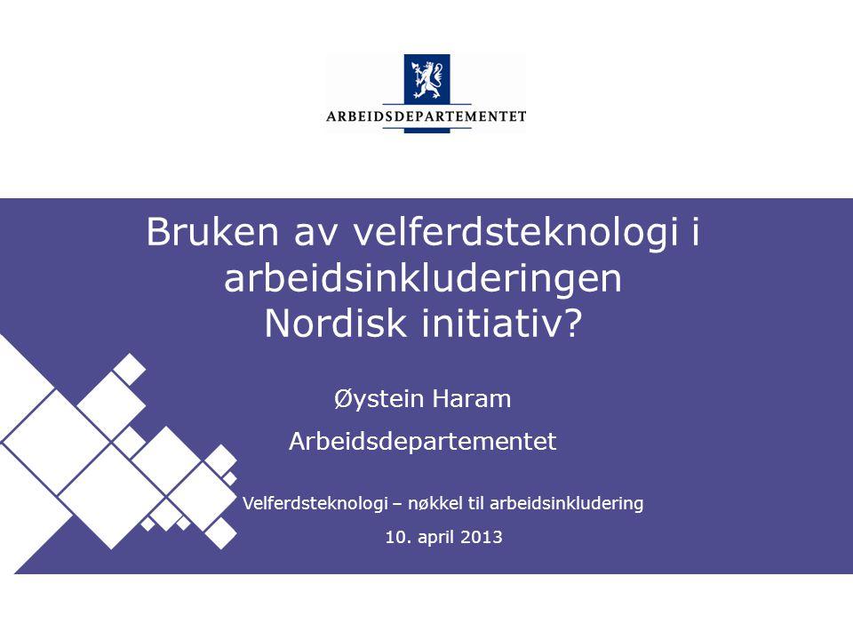 Arbeidsdepartementet Norsk mal: Startside Tips engelsk mal Klikk på utformingsfanen og velg DEPMAL – engelsk.
