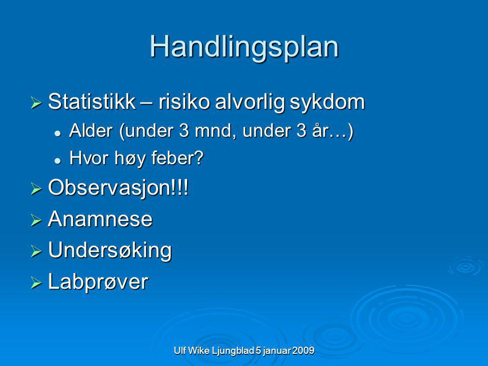 Ulf Wike Ljungblad 5 januar 2009 Blodsukker  Bør tas på liberal indikasjon  B-glukose 4-8  Omgangs syke – diabetes ketoacidose.