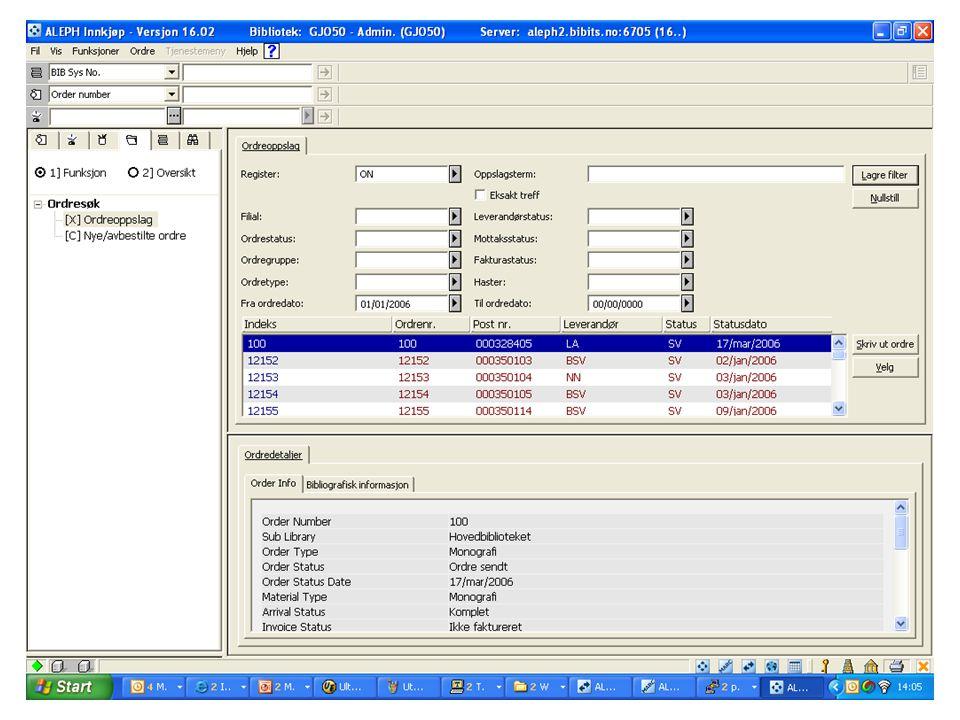 Send purring •Ja = kommer med på automatisk kjøring av purringer (p_serial_44) •Nei = kommer IKKE med på automatisk kjøring av purringer.