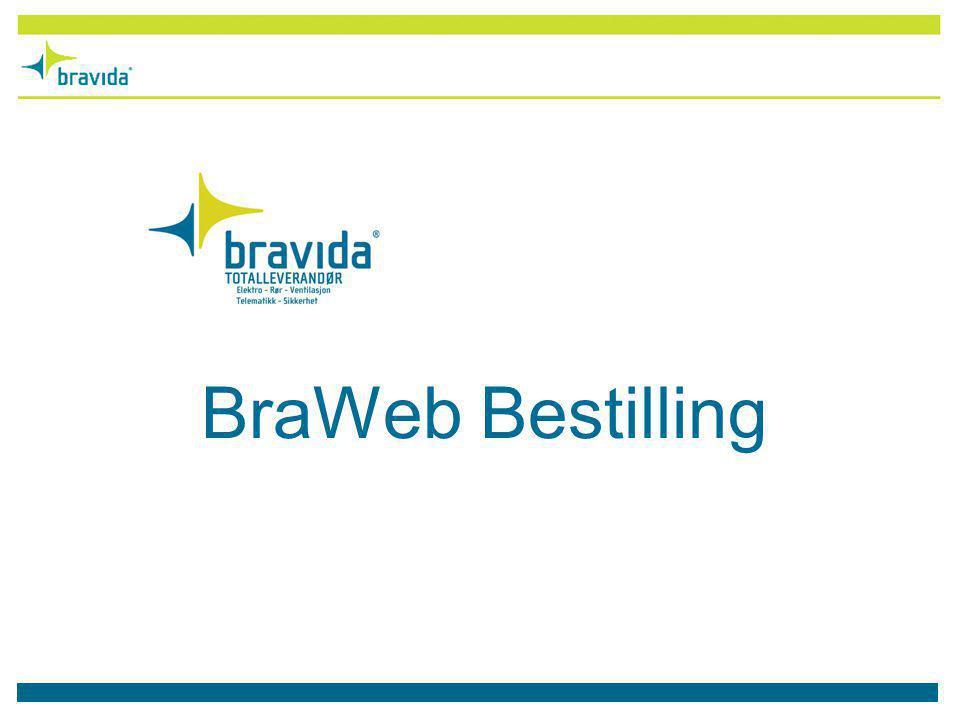 Bravida tilbyr nå BraWeb Bestilling.Dette er et web-basert system for arbeidsbestilling.