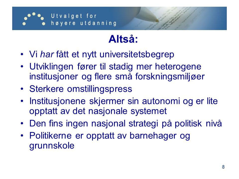 9 Hva skal vi gjøre med dette? Fins det en alternativ vei mellom Hernes og Mjøs?