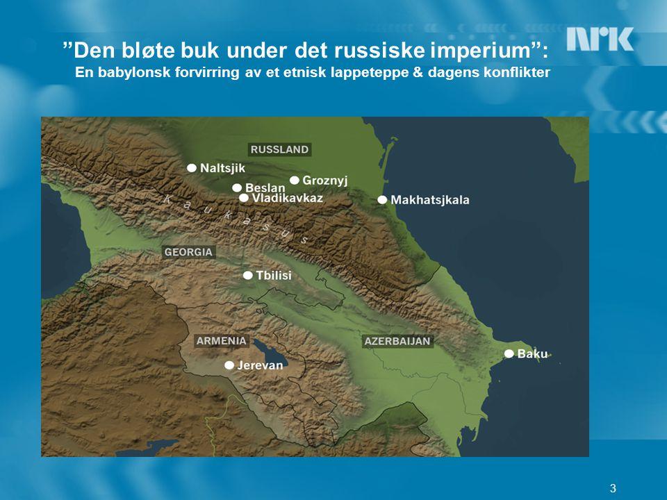 3 Den bløte buk under det russiske imperium : En babylonsk forvirring av et etnisk lappeteppe & dagens konflikter