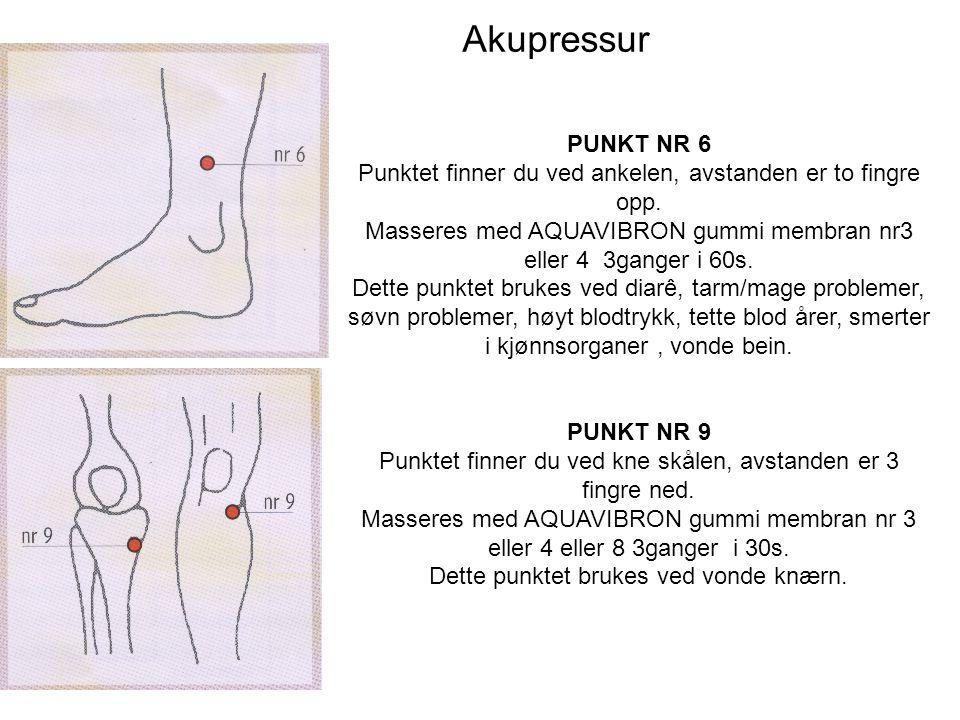 Akupressur PUNKT NR.3 Punktet finner du på siden av neven under lille fingeren.