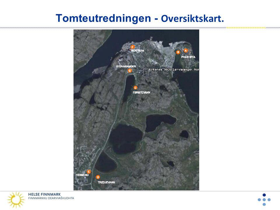 Tomteutredningen - Oversiktskart.