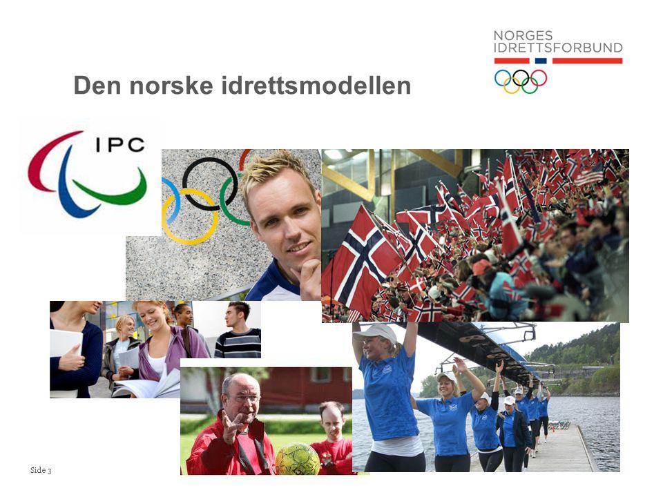 Side 14 Spillemidler til norsk idrett Historisk tildeling samt forventet utvikling