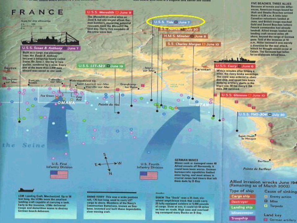 •Invasjonen ble iverksatt tidlig på morgenen den 6. Juni 1944. •Den hadde da allerede blitt utsatt to gange p.g.a dårlig vær. •Eisenhover tok egentlig
