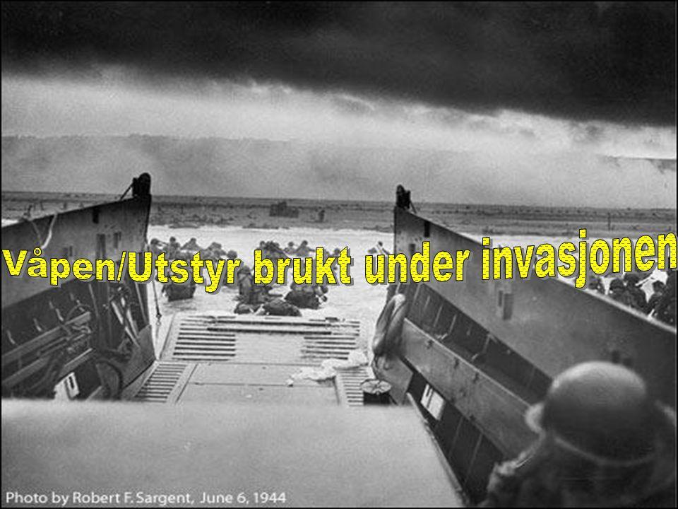 •De alliertes bombinger i Frankrike avledet tyskerne. •Deler av minefeltene som var lagt under vann sprengte seg selv (Atlanter-veggen) * •Britisk ett