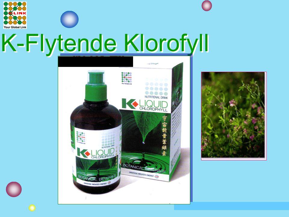 K-Flytende Klorofyll