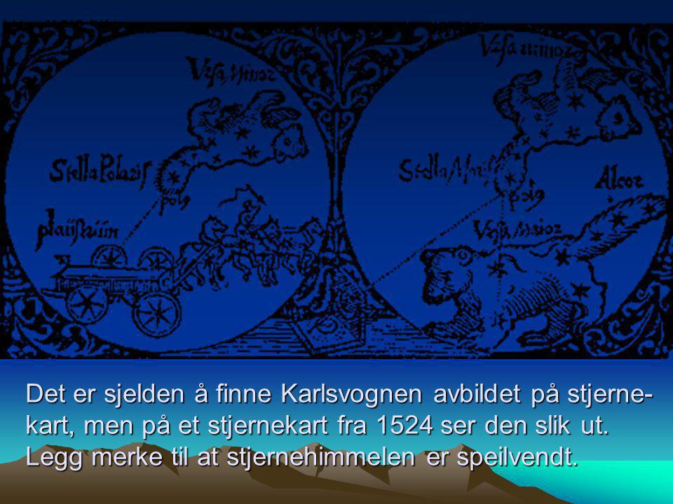 Store Bjørn og Lille Bjørn •Overguden Zevs ble forelsket i kongsdatteren Callisto.
