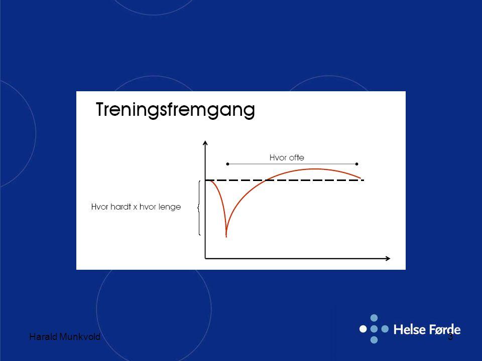 Harald Munkvold24 Detrening •Alle adaptasjonene er reversible.